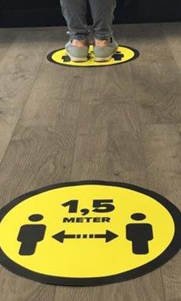 1,5 meter sticker